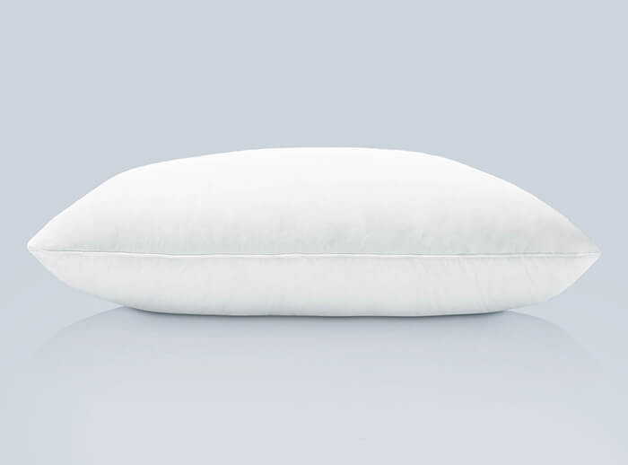 PlushBeds Cotton-Encased Down Blend Pillow