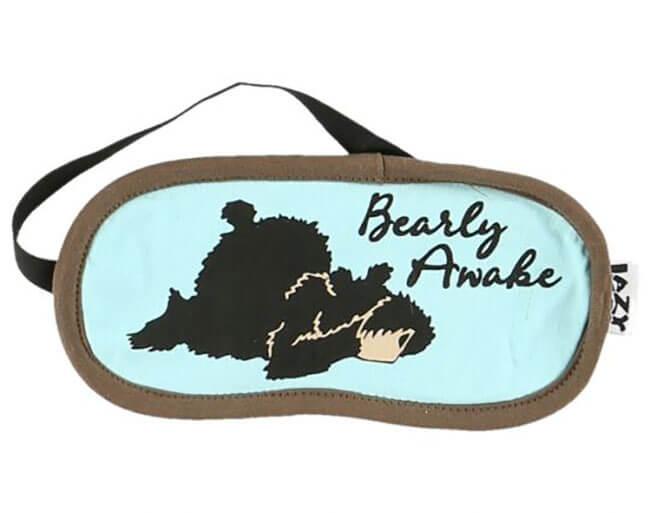 Lazy One Bearly Awake Sleep Mask