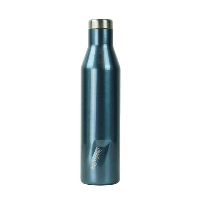 EcoVessel The Aspen Insulated Stainless Steel Wine Bottle 25 oz.