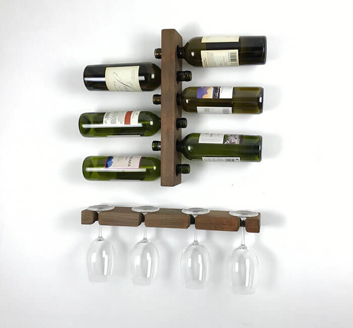 Loma Living Wine Glass Storage