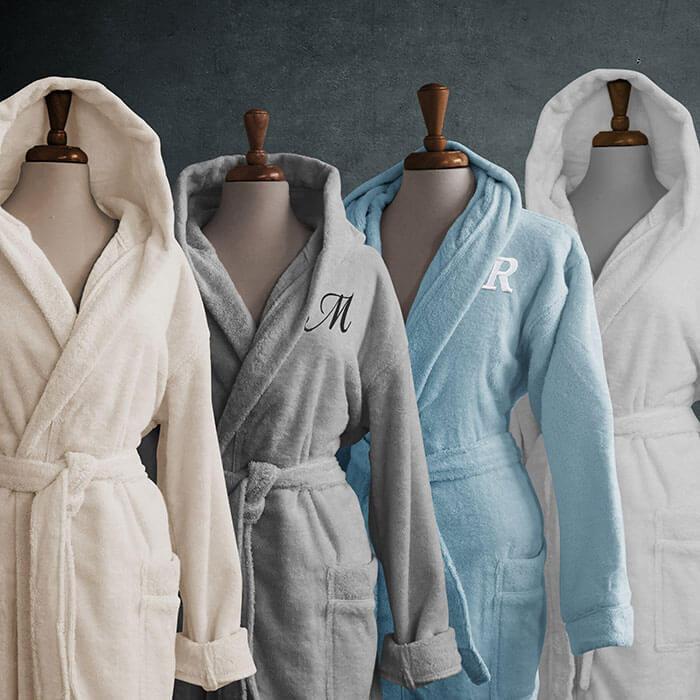 Luxor Linens Intimo Turkish Cotton Robe