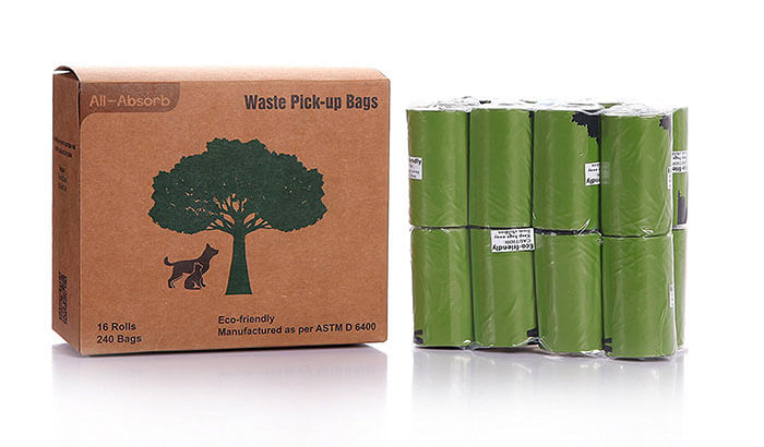 All-Absorb Eco Friendly Waste Pick-up Bags