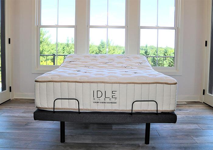 "IDLE Sleep 14"" Double Sided Latex Hybrid Mattress"