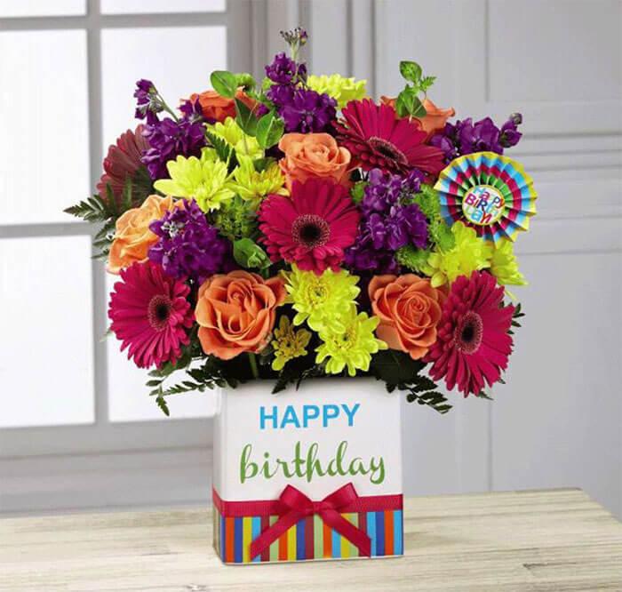 Kremp Florist Birthday Brights Bouquet