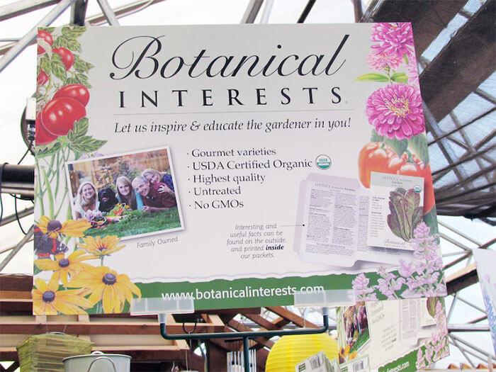 Botanical Interests Royal Blend Sweet Pea Organic Heirloom Seeds