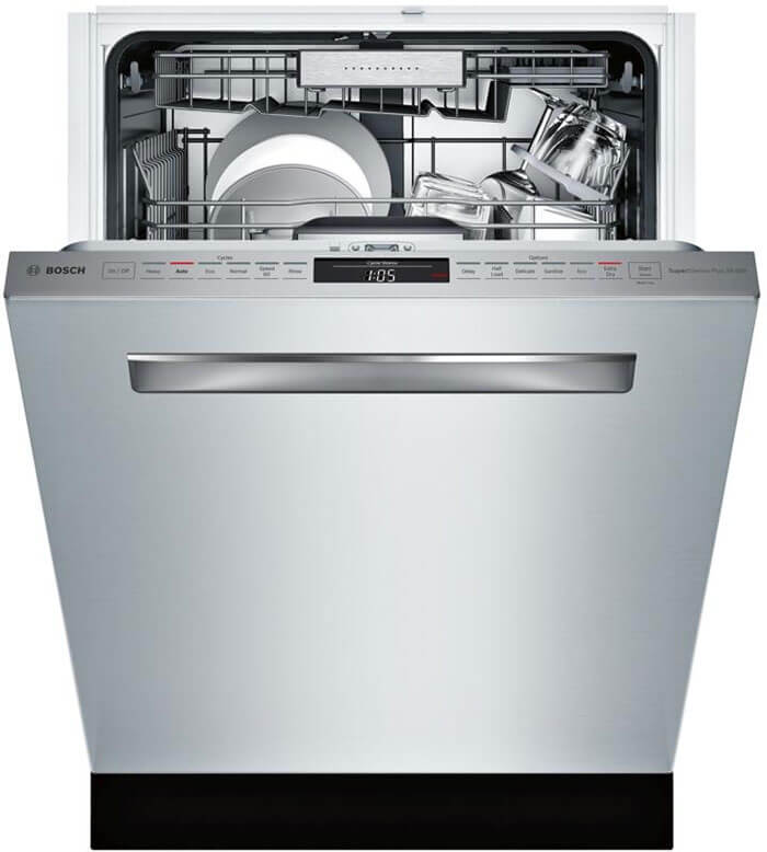 Appliance Connection Bosch 800 Series 24 Inch Built in Fully Integrated Dishwasher