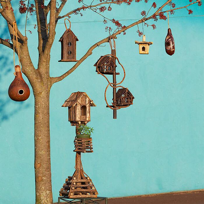 Ten Thousand Villages Cottage Garden Birdhouse