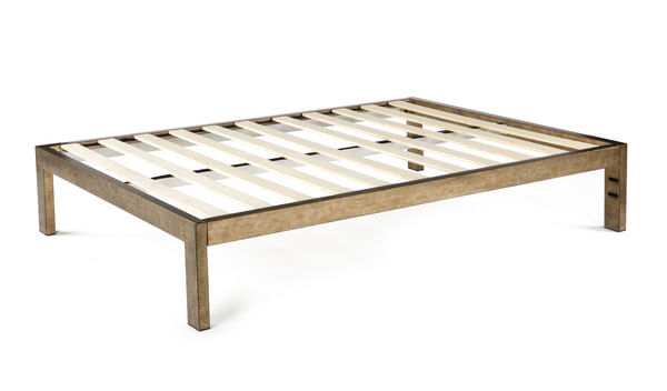 Keetsa Gold Brushed Steel Bed Frame