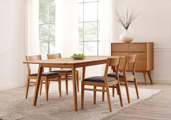 Contemporary Laurel Bamboo Dining Chair
