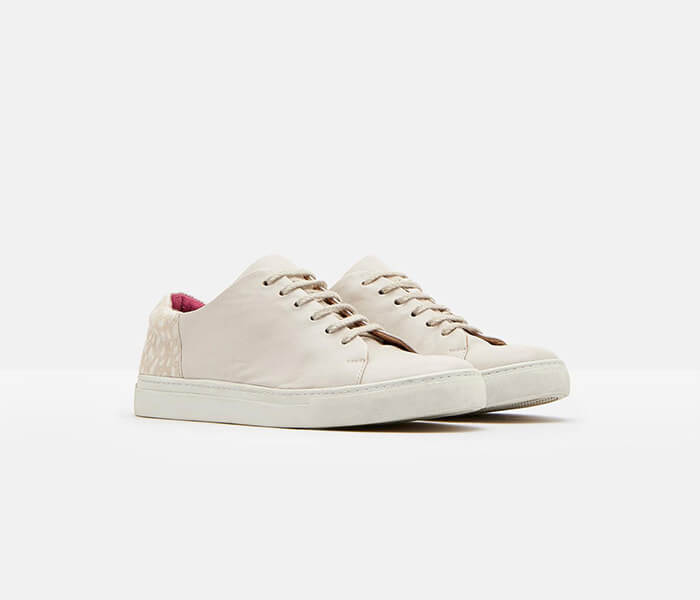 Joules Solena Off White Trainers