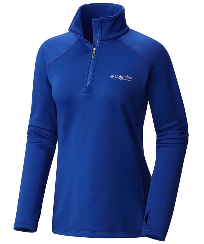 Columbia Northern Ground Half Zip Fleece Shirt
