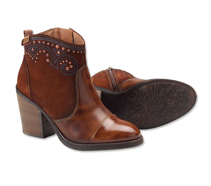 Orvis Pikolinos Alicante Embellished Ankle Boots