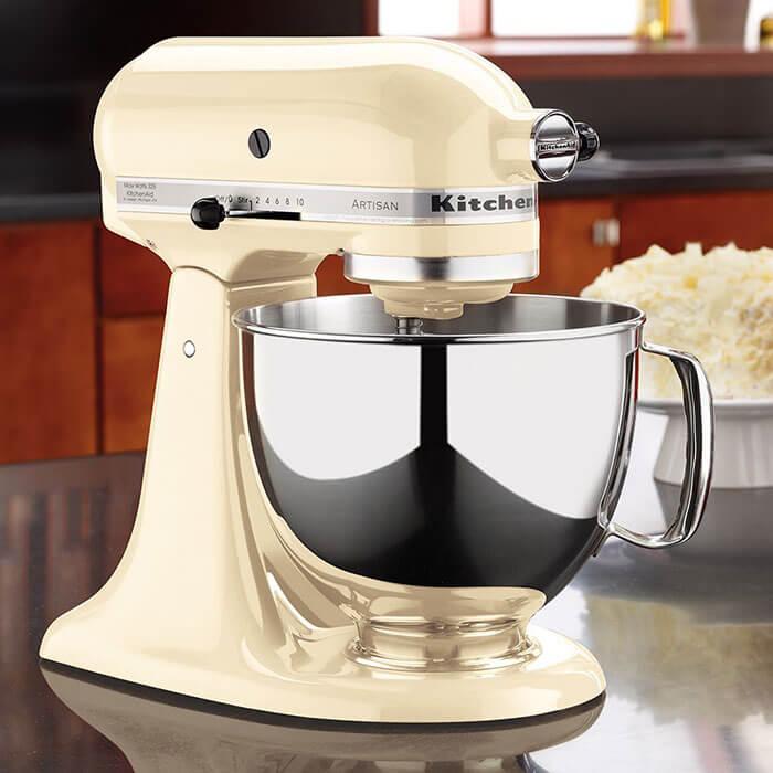 KitchenAid Artisan Series 5 Quart Stand Mixer with Pouring Shield