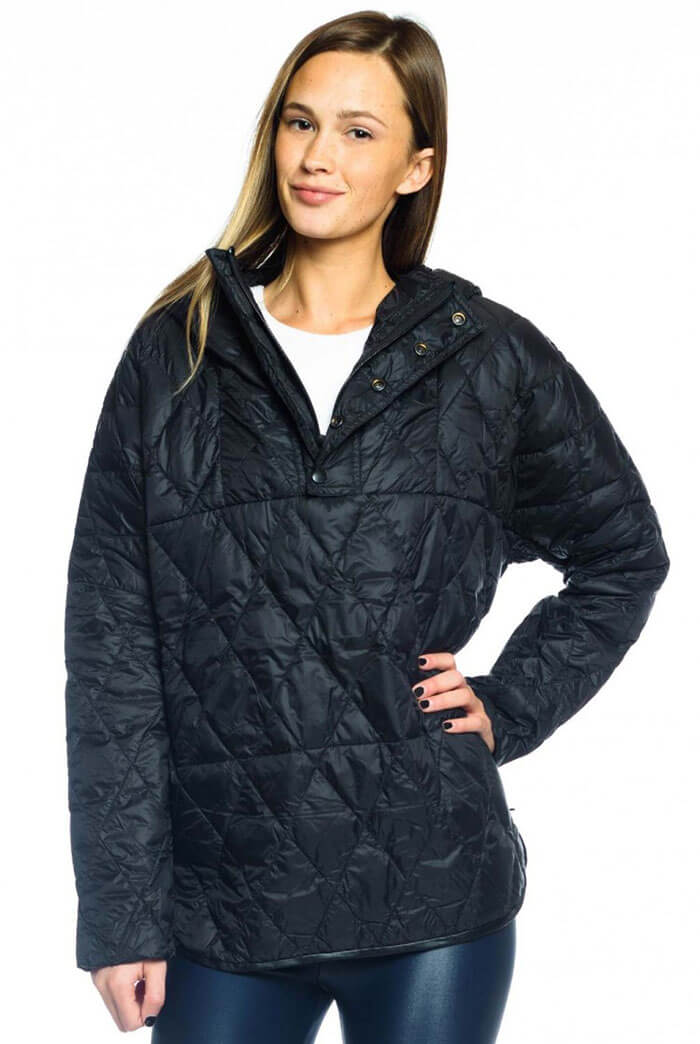 Evolve Fit Vimmia Chalet Hooded Poncho Jacket