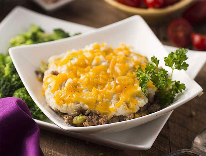 Silver Cuisine by bistroMD Beef Shepherds Pie