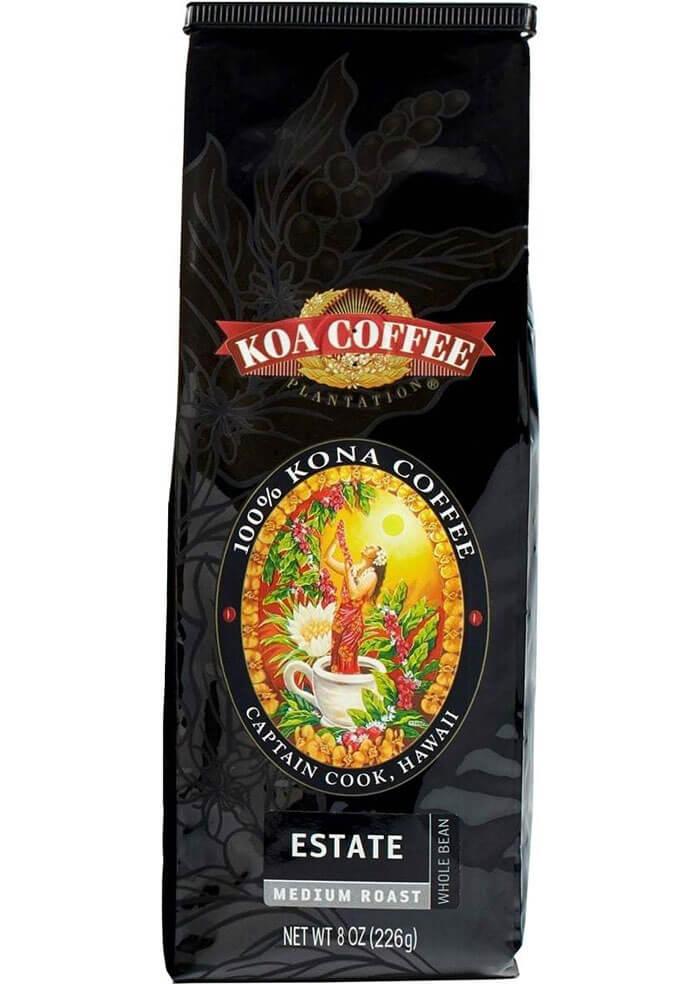 Koa Coffee Estate Medium Roast Whole Bean Coffee