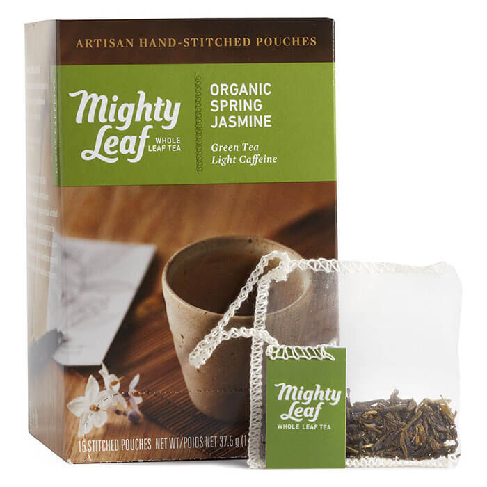 Mighty Leaf Tea Organic Spring Jasmine Green Tea