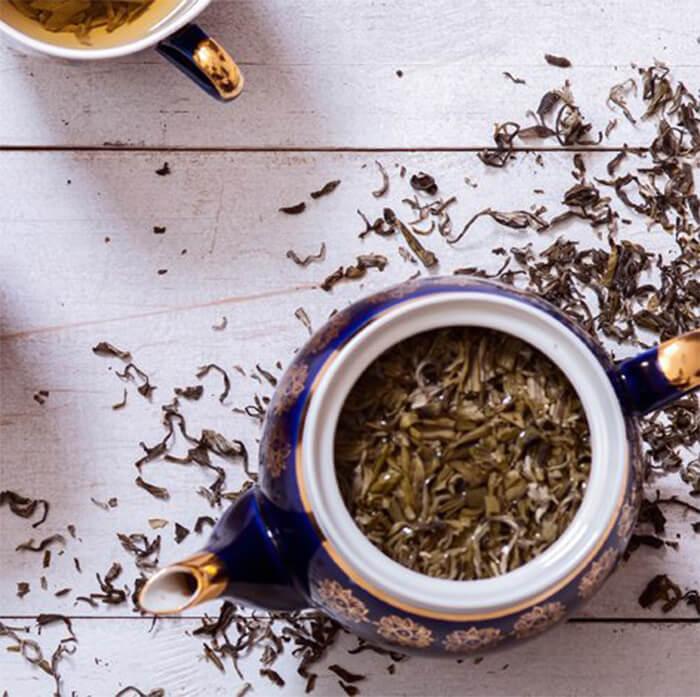 Vahdam Ayurvedic Rose Herbal Green Tea
