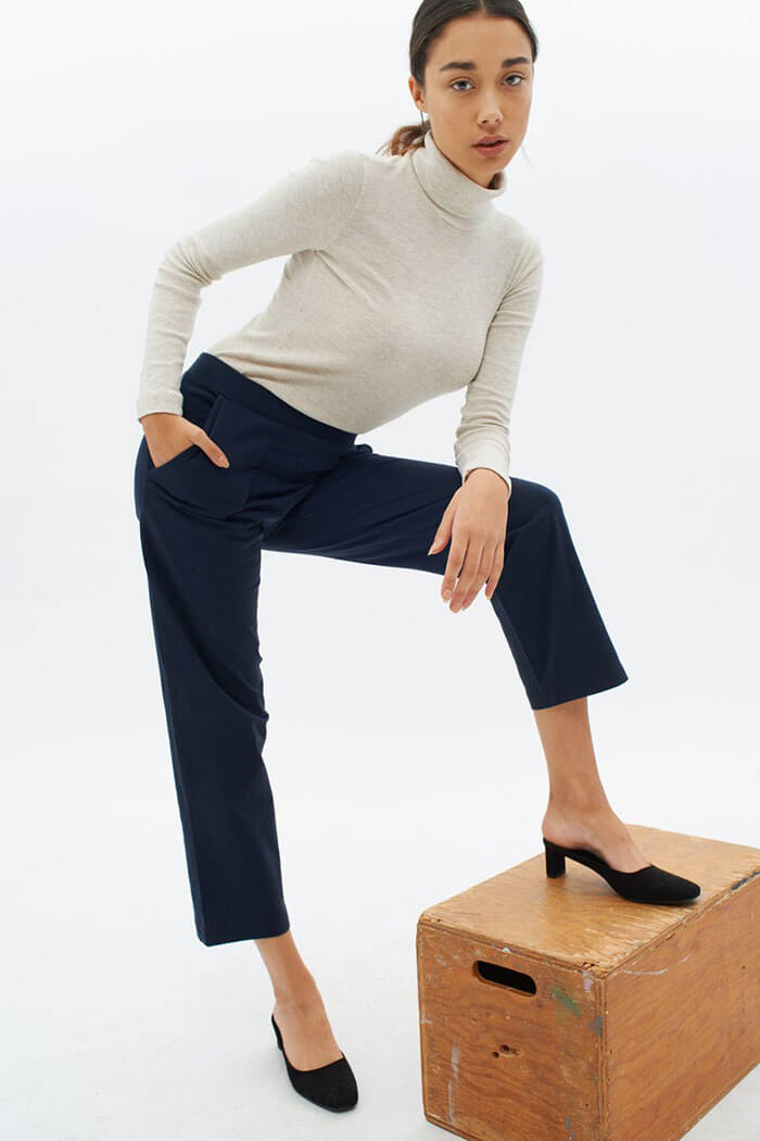 KOTN Straight Leg Crop Pant