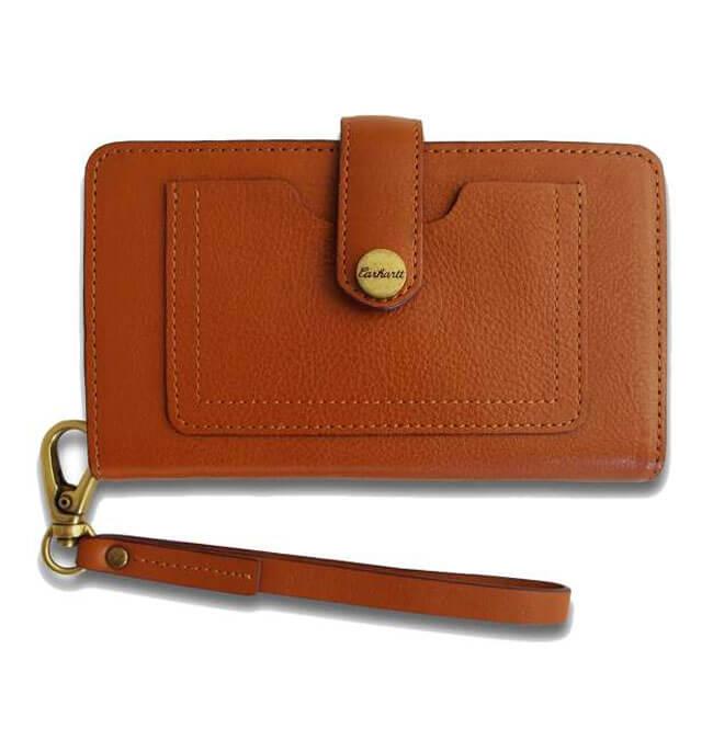 Carhartt Signature Full Grain Leather iPhone Clutch