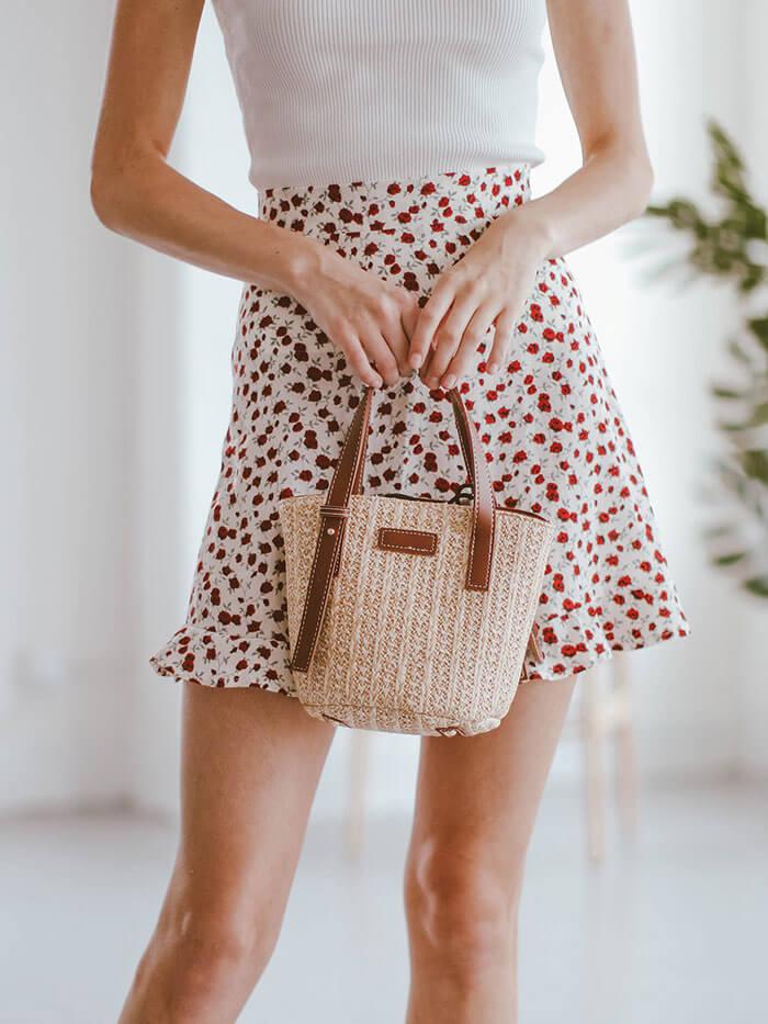 Goodnight Macaroon Colette Mini Ratten Handbag