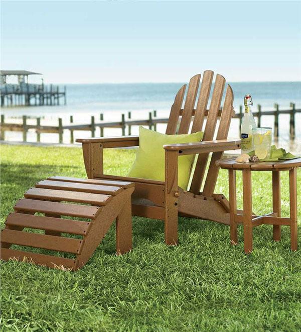 Plow & Hearth Poly-Wood Adirondack Furniture
