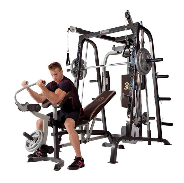 Marcy Smith Cage Workout Machine Total Body Training Home Gym
