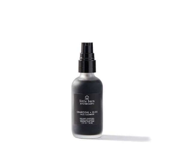 Love Goodly Little Barn Apothecary Charcoal + Aloe Face Cleanser