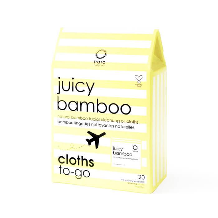 Safe & Chic Kaia Naturals Juicy Bamboo Natural Facial Cleansing Cloths