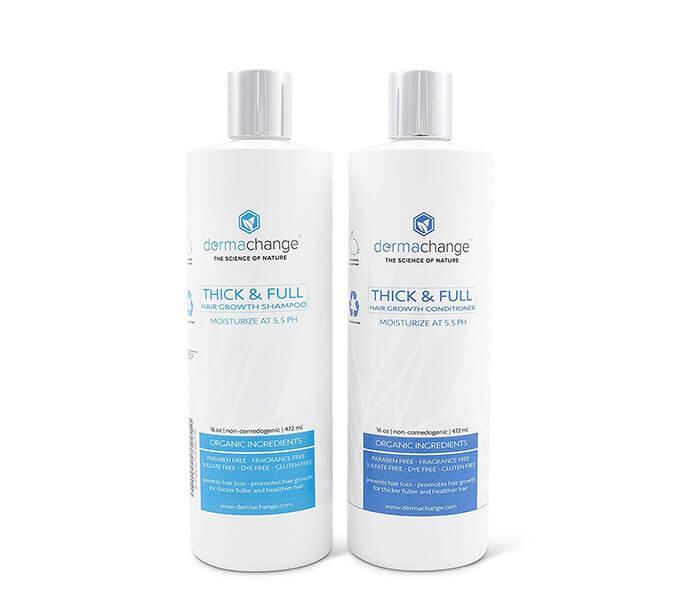Dermachange Organic Natural Hair Growth Shampoo