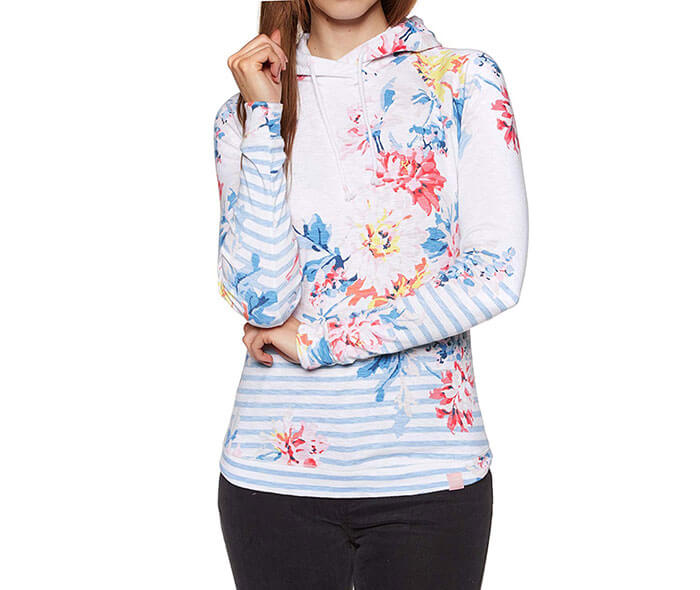 Joules Ymarlstonprint Pullover Hoody