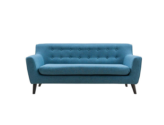 Magari Furniture Upholstered Classic Tufted Sofa