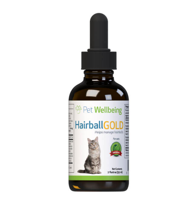 Pet Wellbeing Hariball Gold