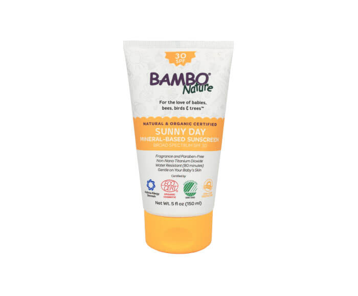 Bambo Nature Sunny Day Mineral Sunscreen SPF 30