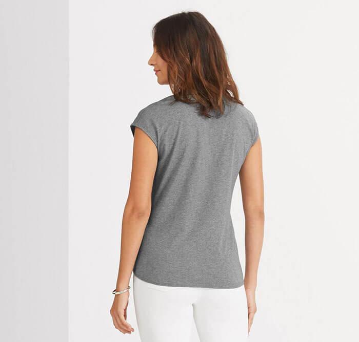 NAU Basis Capsleeve T-Shirt