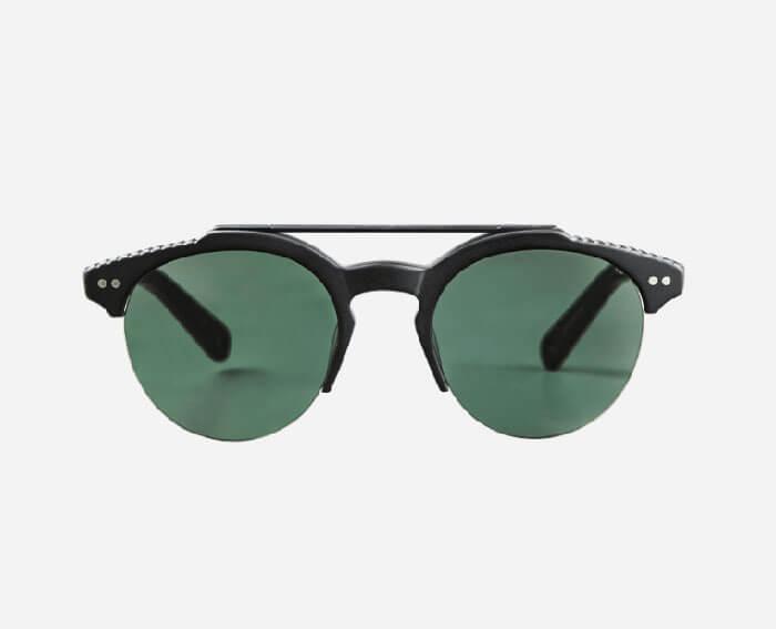 Vilebrequin Khaki Mono Matt Sunglasses