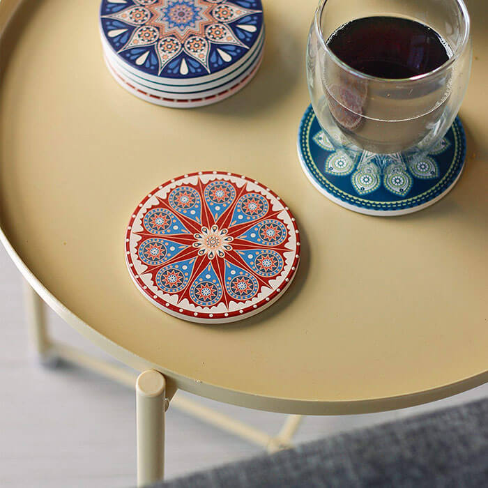 Teocera Drink Coasters Mats