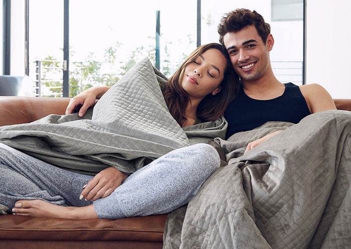 DreamCloud BlanQuil Quilted Weighted Blanket