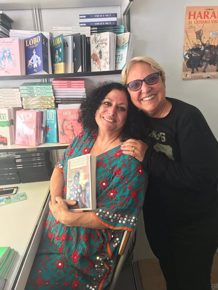 Victoria Subirana y Mayda Bustamante