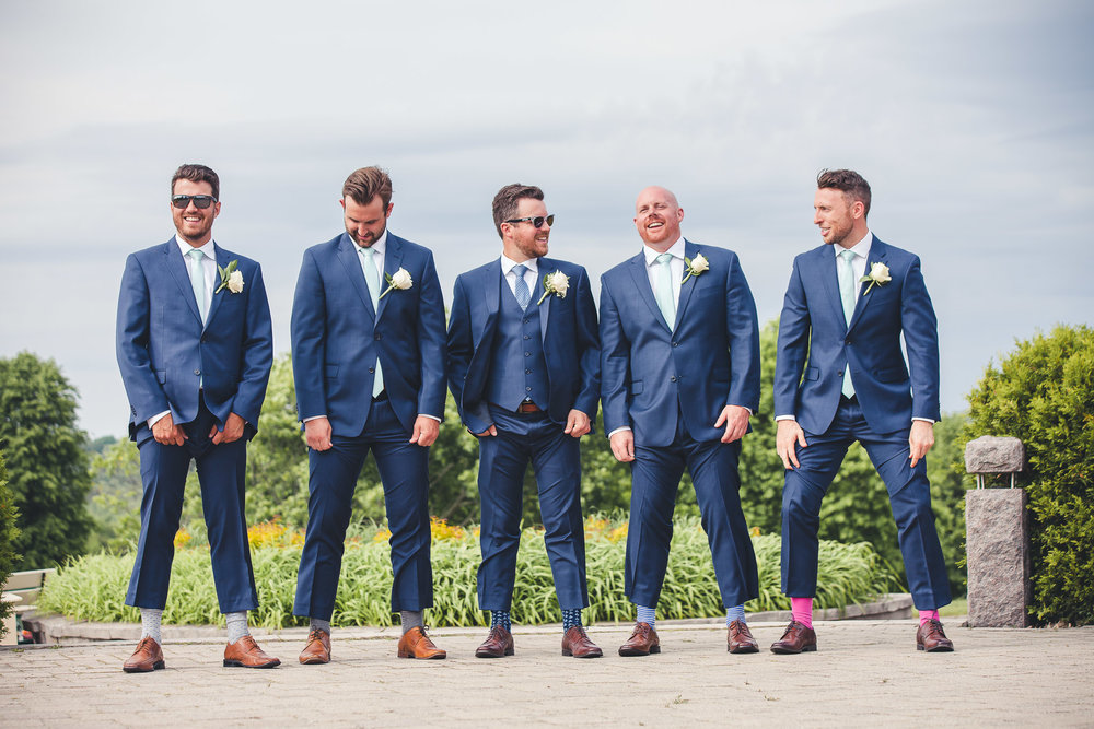 Groom- Groomsmen- Barrie Wedding Party- Barrie Country Club