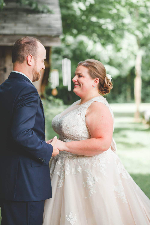 First Look- Barrie Wedding Photography- Muskoka Wedding Photography- Barrie Wedding Photographer- First Look Wedding Photos