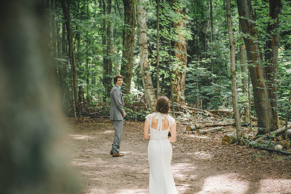 First Look- Amy D Photography- Wedding Photography- Barrie Wedding Photographer - Barrie Wedding Photography- Wedding First Look- First Look Forest-12.jpg