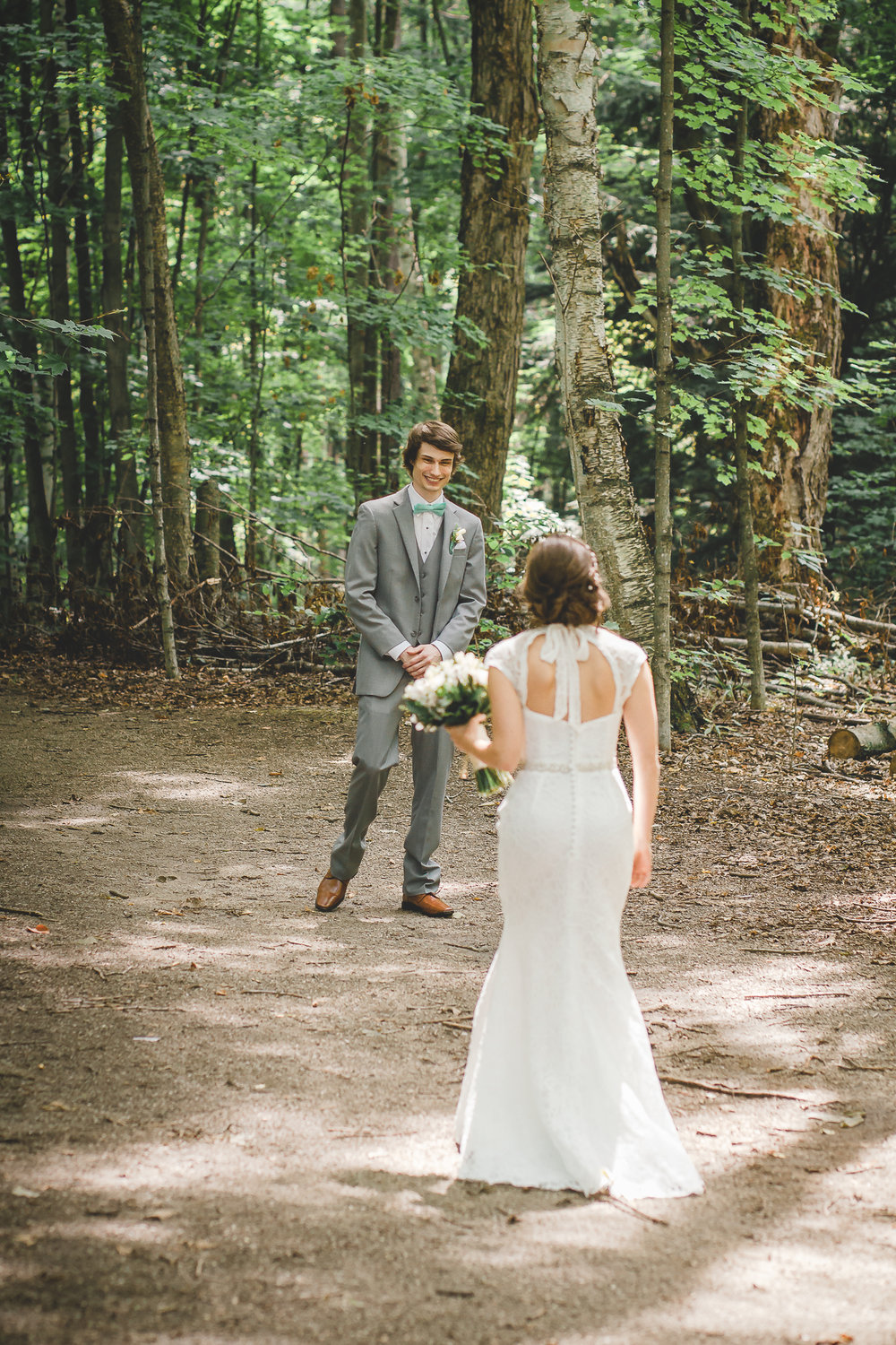 First Look- Amy D Photography- Wedding Photography- Barrie Wedding Photographer - Barrie Wedding Photography- Wedding First Look- First Look Forest-16.jpg