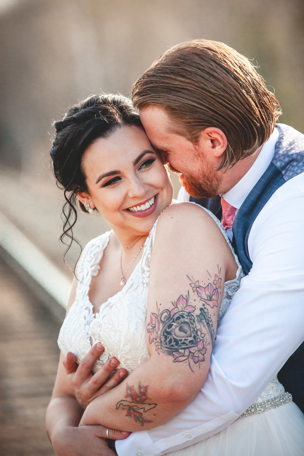 Amy D Photography- Bride and Groom-Barrie Wedding Photography Muskoka Wedding Photography Bride and Groom Poses Bride and Groom Train Tracks Snow Valley Wedding-45.jpg