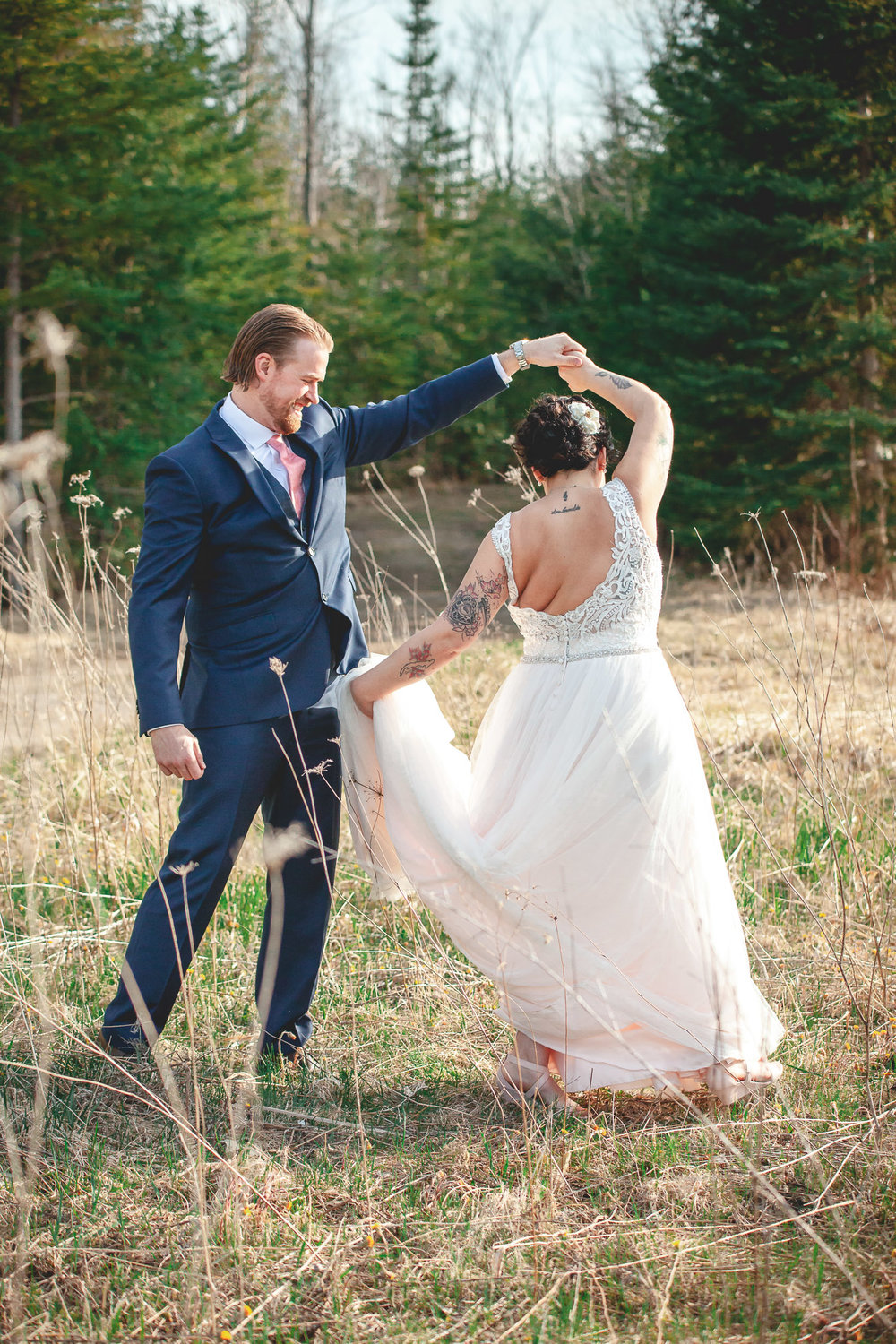 Amy D Photography- Bride and Groom-Barrie Wedding Photography Muskoka Wedding Photography Bride and Groom Poses Bride and Groom Train Tracks Snow Valley Wedding-88.jpg