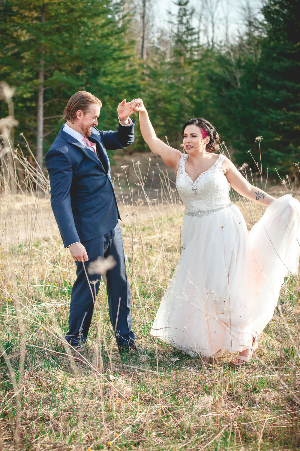 Amy D Photography- Bride and Groom-Barrie Wedding Photography Muskoka Wedding Photography Bride and Groom Poses Bride and Groom Train Tracks Snow Valley Wedding-89.jpg