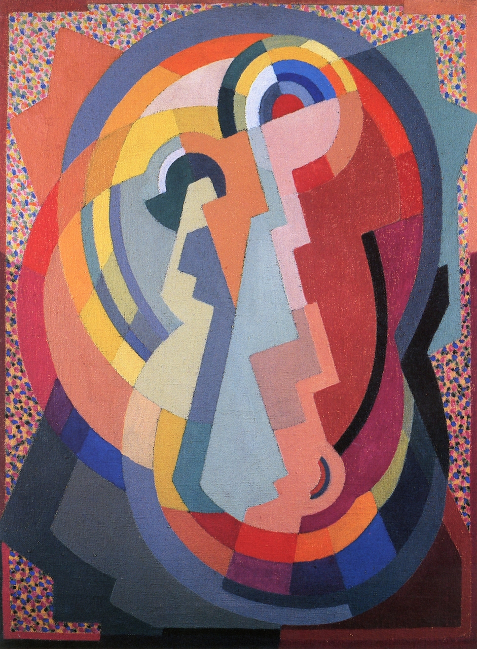 Mainie Jellett Virgin and Child, 1936 61 X 46 cm Oil on Canvas