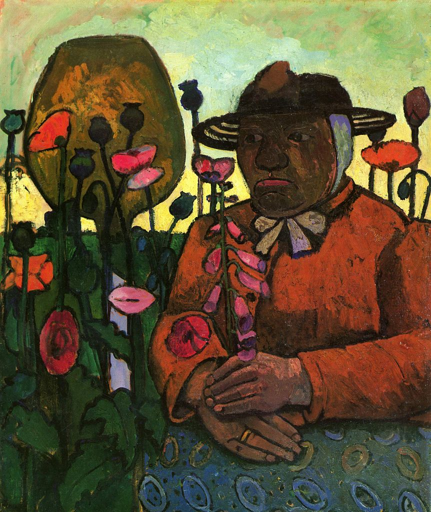 Paula Modersohn-Becker Old Peasant Woman in the Garden, 1906 95 X 78 cm Tempera on canvas