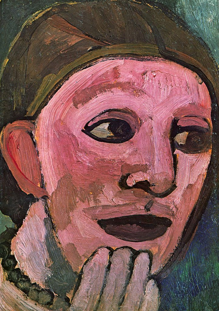 Paula Modersohn-Becker Self-Portrait,1906-1907