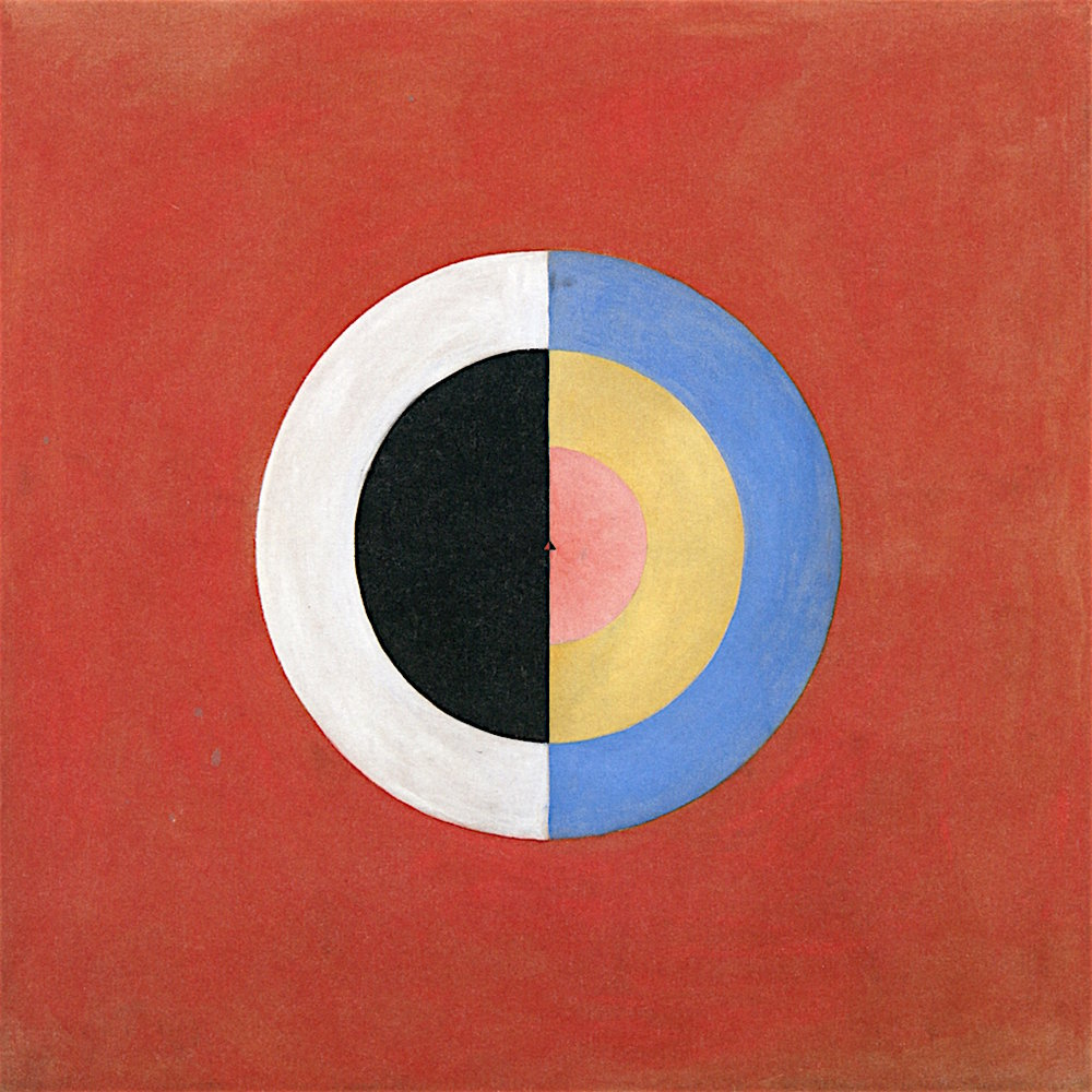 Hilma af Klint The Swan, No. 17, Group IX/SUW, 1914 151.5 x 151 cm Oil on canvas
